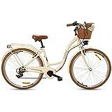 Goetze Mood Damenfahrrad Retro Vintage Holland Citybike, 28 Zoll Alu...